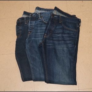 Other - Hollister and A&F Jeans Bundle!!!